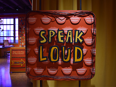speak loud exhibit