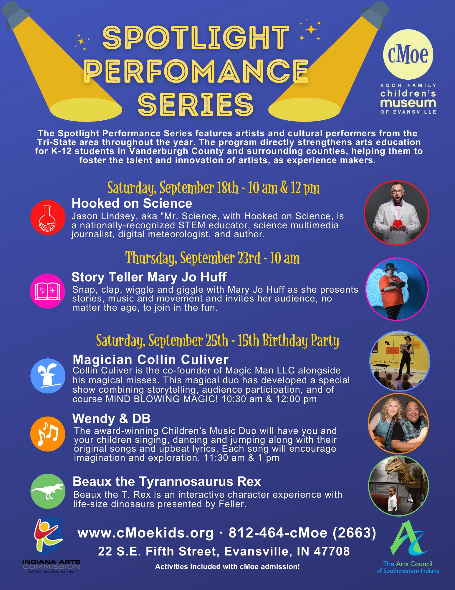 Spotlight Performer Series